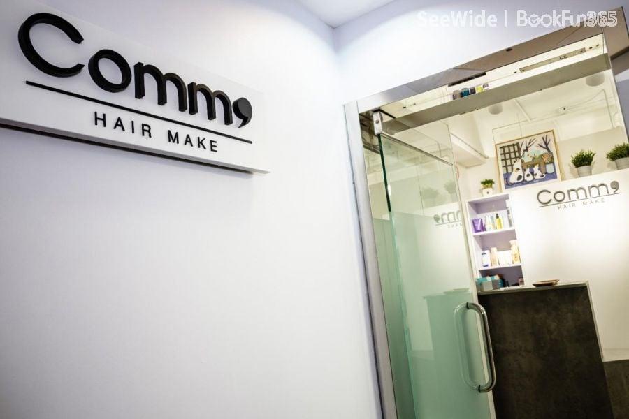 Comma Hair Make